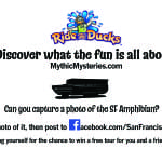 Capture a Photo of the SF Amphibian #RideTheDucks #FamilyFun @sanfranducks #Sponsored