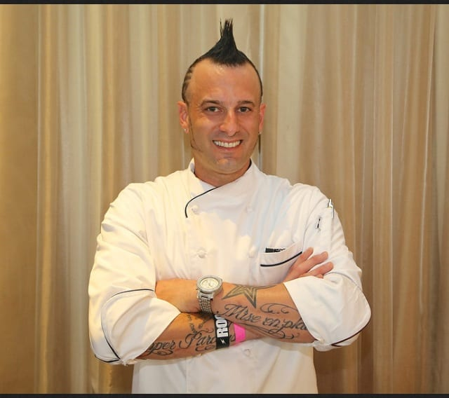 Chef Barret Beyer - Hells Kitchen - Season 11 - Bio pic