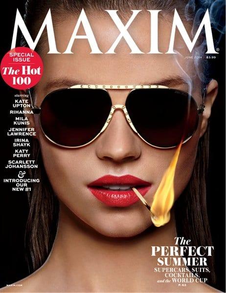Maxim Cover: June #MaximHot100 Reveal