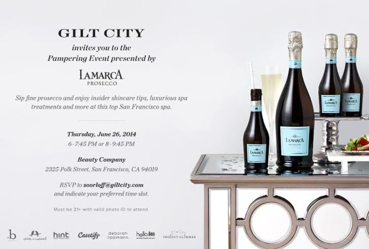 Beauty Company SF Event 06-24-14: Gilt City Pampering Series