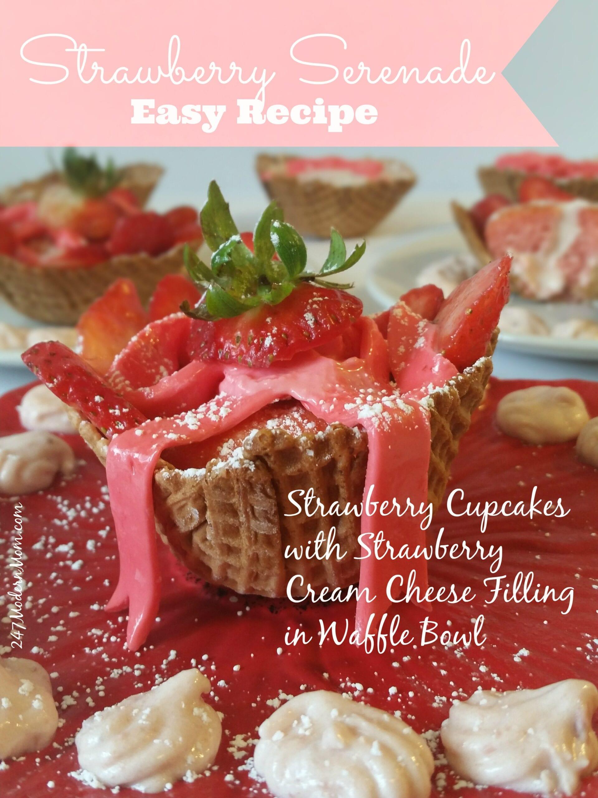 Strawberry Serenade Cupcakes Recipe: Kraft Coupons