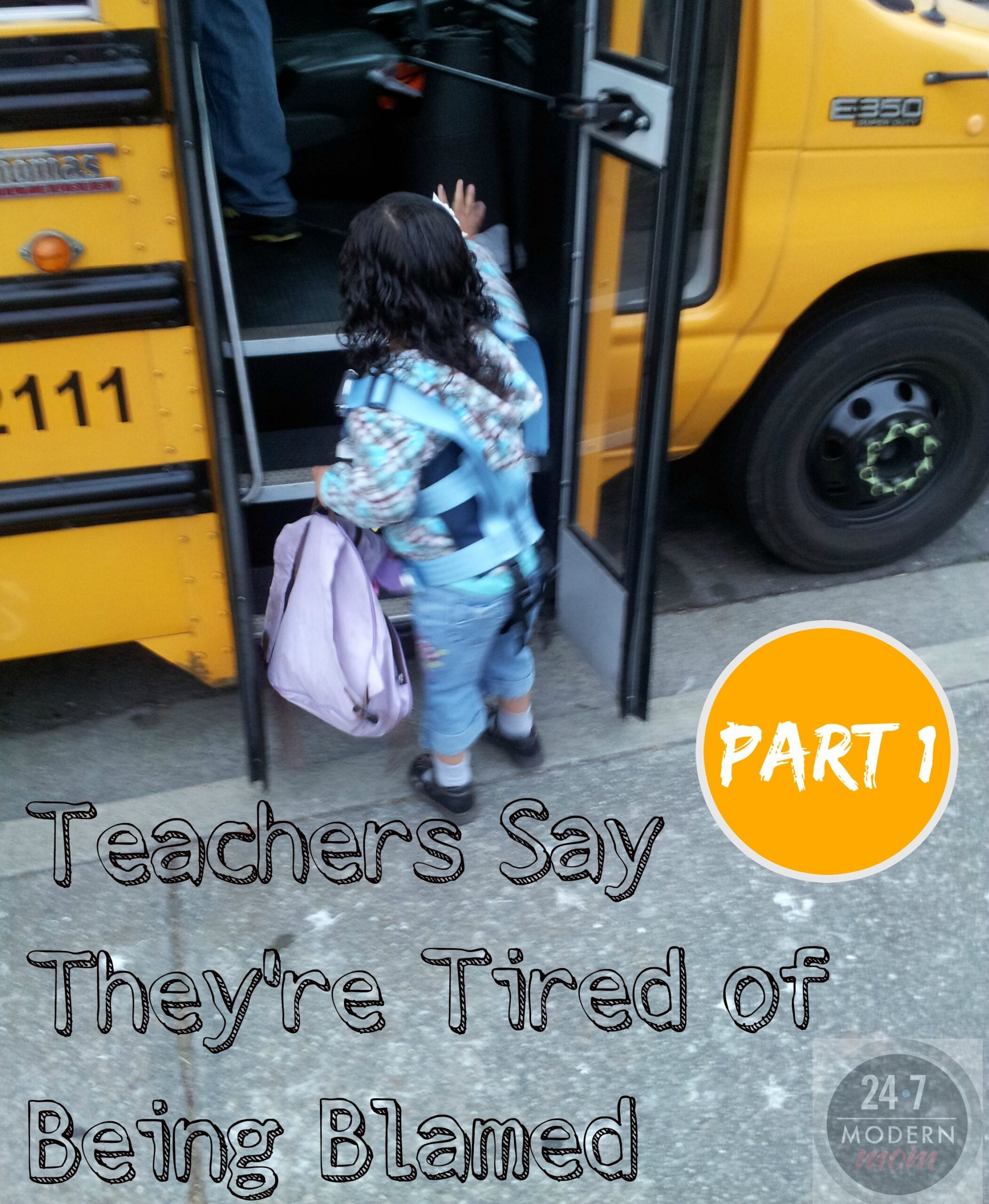 Teachers Say They're Tired Of Being Blamed: Part II