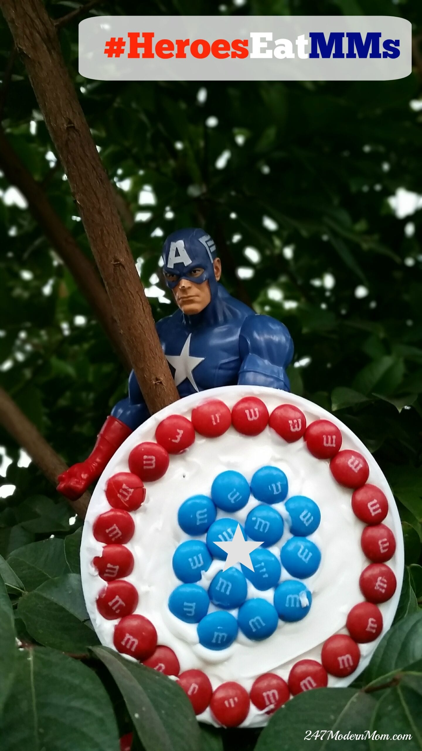 #HeroesEatMMs #Shop #CollectiveBias Captain America
