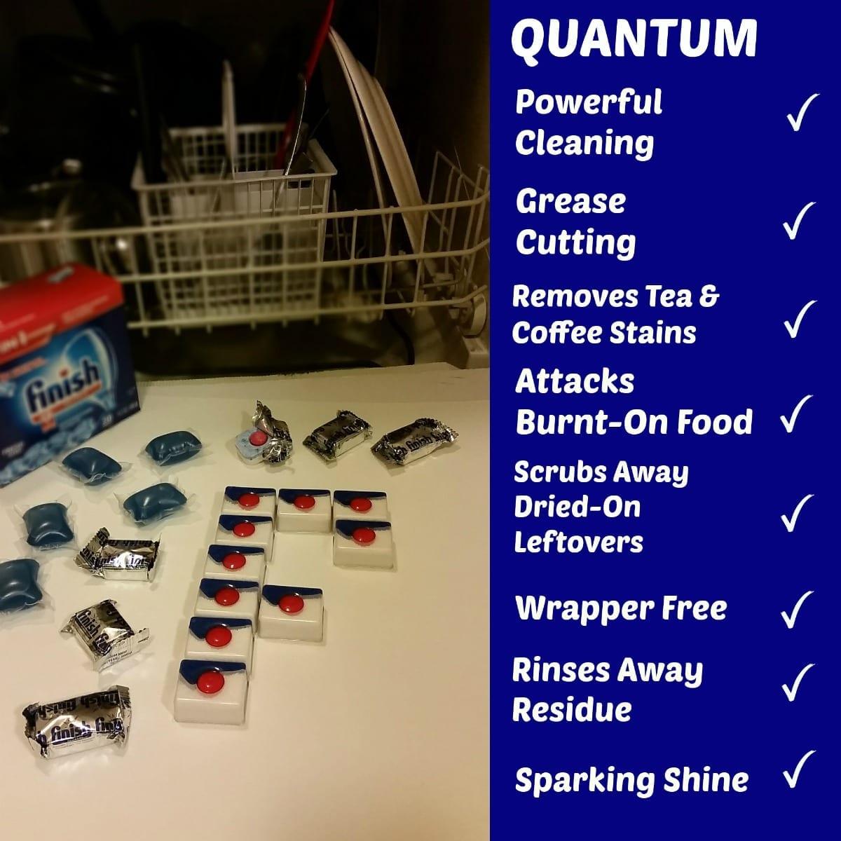 Finish® Quantum Dishwasher Detergent: Rollback Savings Plus Coupon