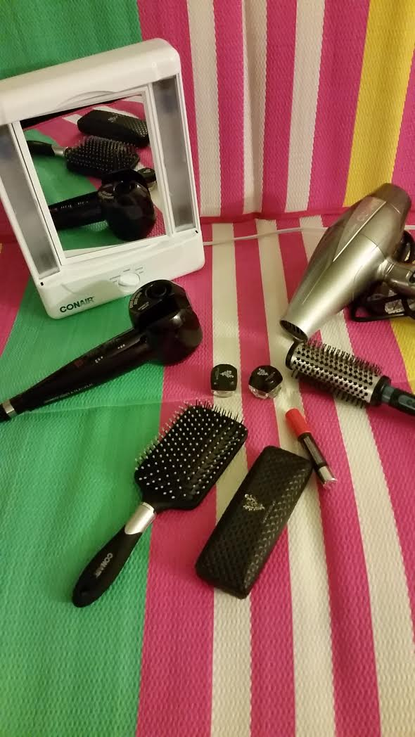 Curly Hairstyles Workstation