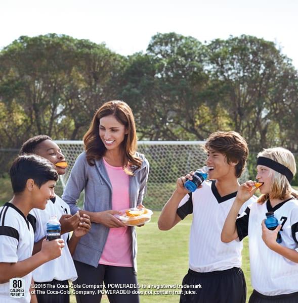Powerade Soccer<span class=