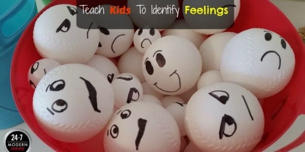Teach Kids To Identify Feelings: Super Fun & Easy DIY Activity To Help Young Children Express Their Emotions