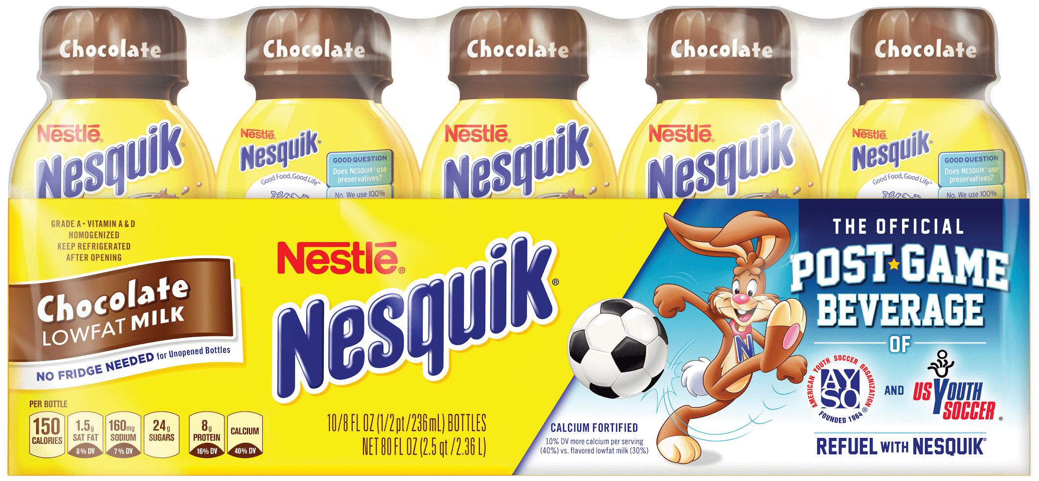 Nesquik® Is the Official Post-Game Beverage of American Youth ...