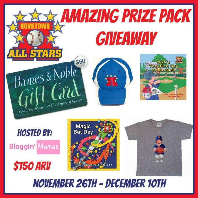 Sports Teach Children Life Lessons: Enter the Hometown All Stars Giveaway