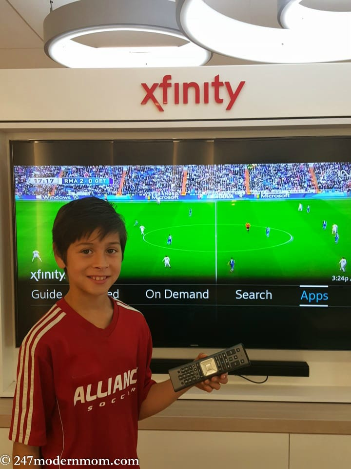 Xfinity X1 and Pedro On Purpose