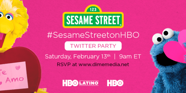 Sesame Street Valentine's Day Twitter Party