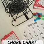 Chore Chart BINGO + Printable: Make Cleaning Fun