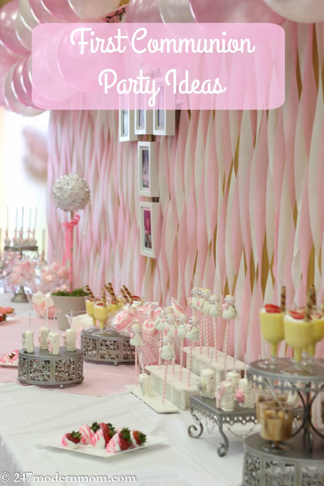 Christening garden party ideas for 1st communion decoration ideas