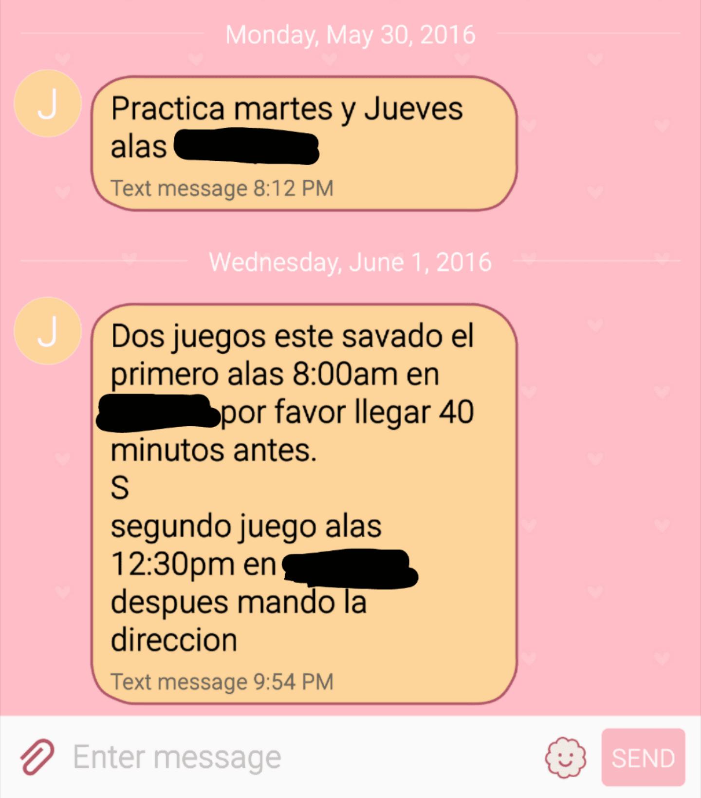 XFINITY Latino - practices