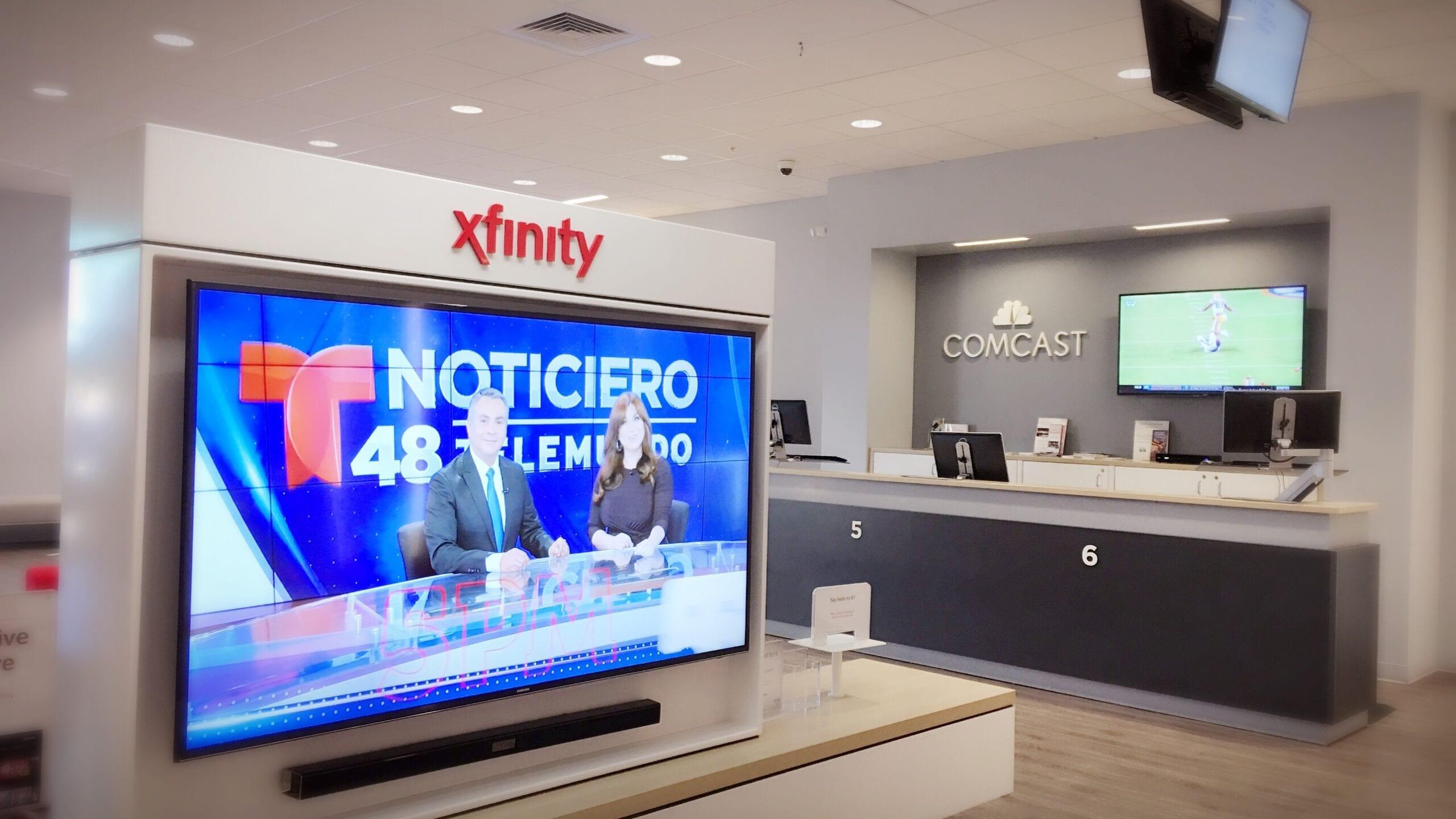 Xfinity X1 Comcast Store