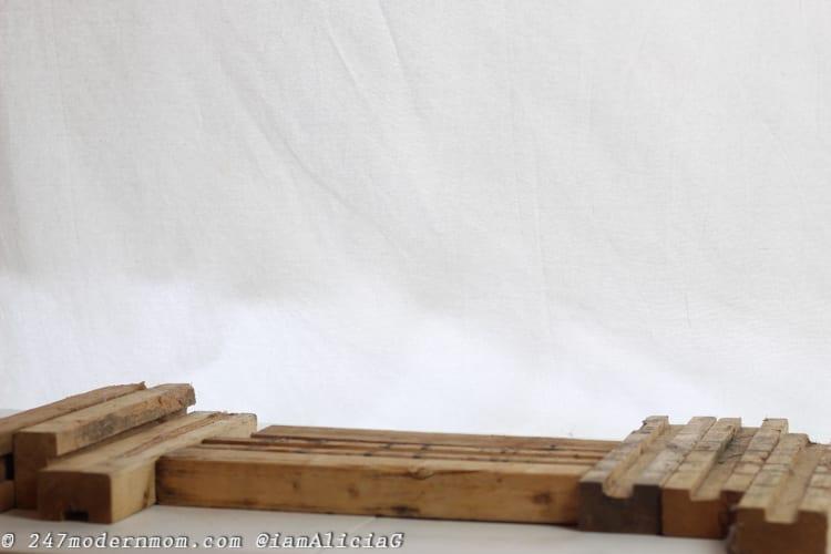 dia de los muertos altar wood