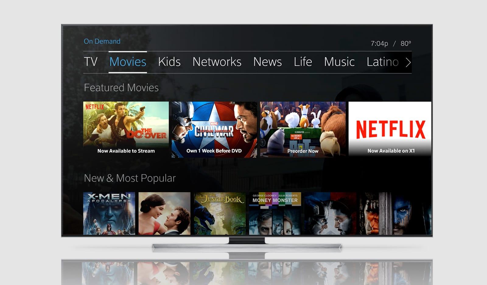 Netflix for Comcast Customers
