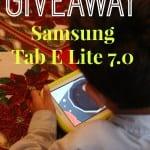 Tab E Lite Giveaway Image