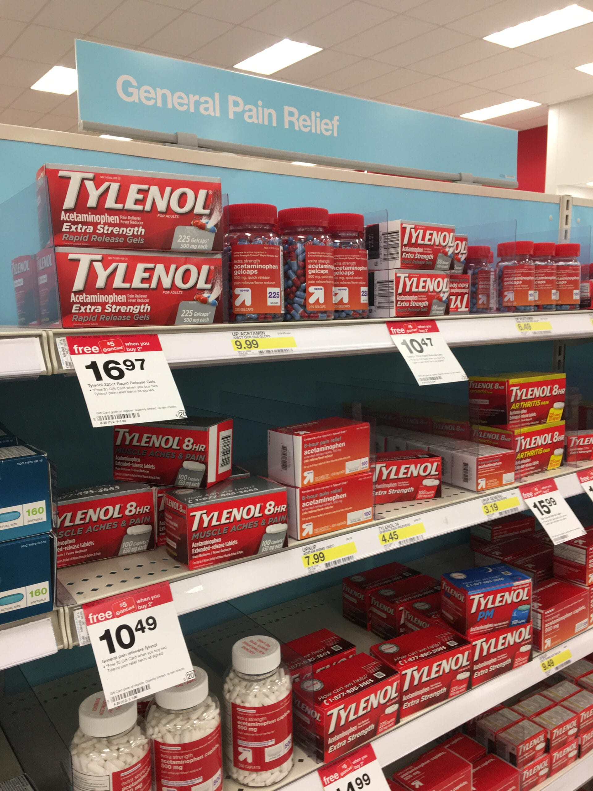 target pain aisle