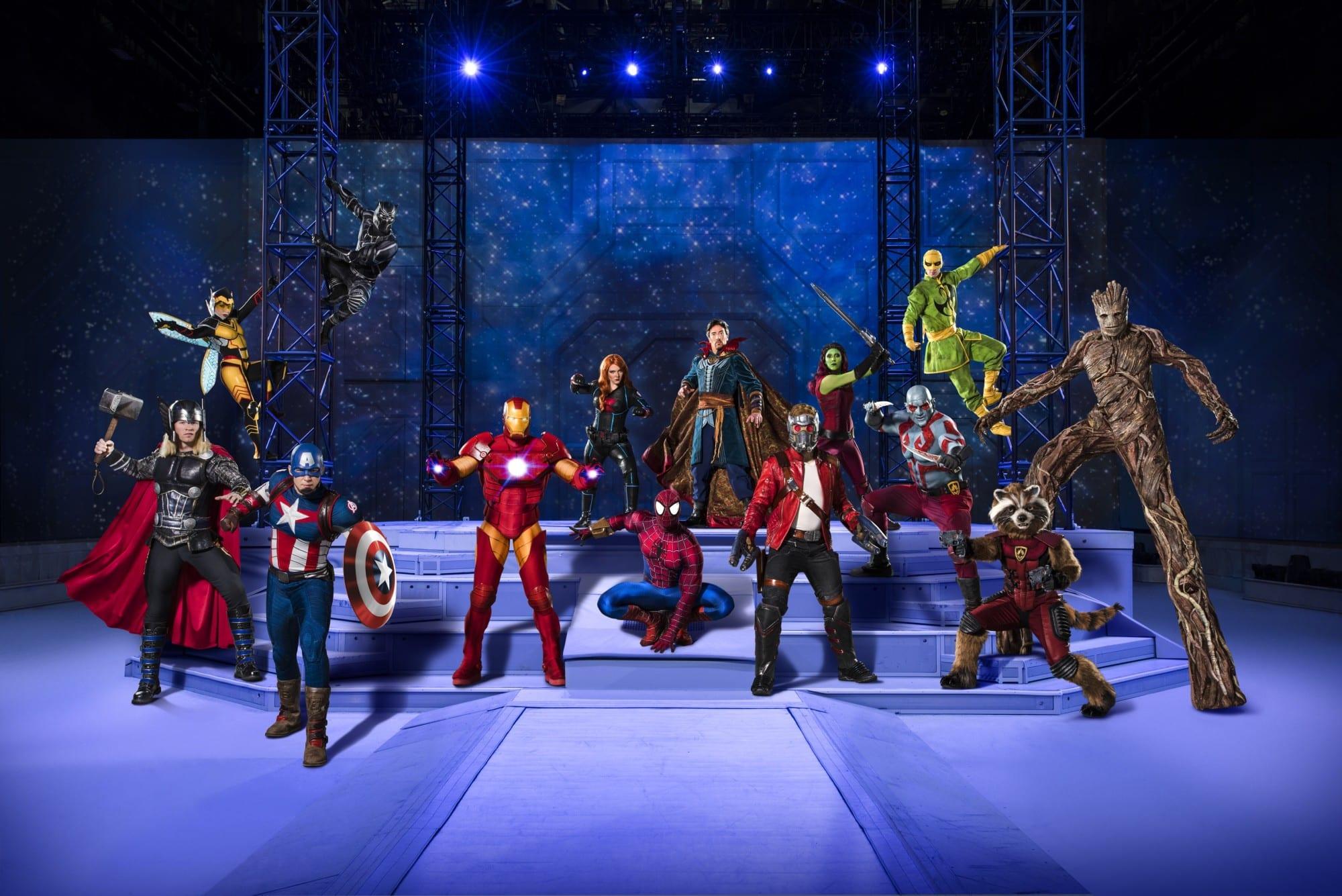 marvel crew